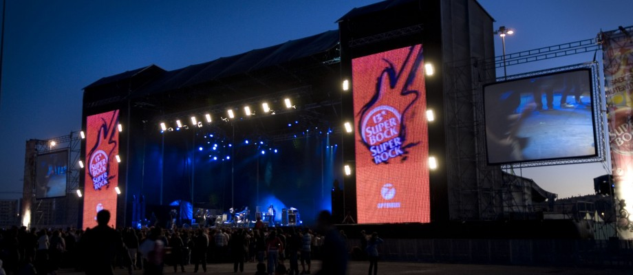 Leds no Festival Super Bock Super Rock
